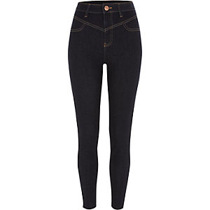 Dark blue super skinny going out jeans