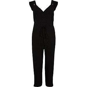 Combinaison jupe-culotte noire
