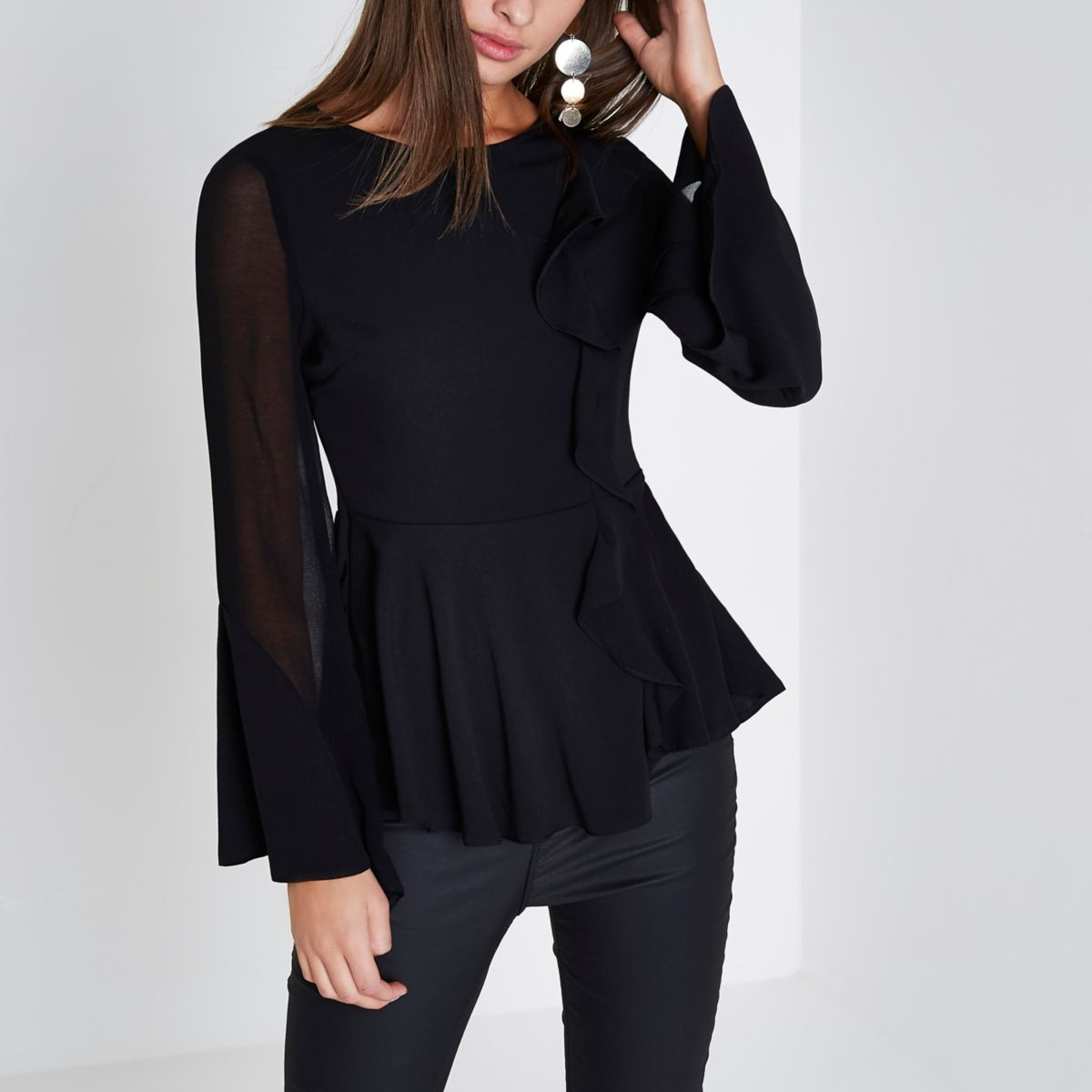 Shop Online at gtacashbank.ga for the Latest Womens Peplum Shirts, Tunics, Blouses, Halter Tops & More Womens Tops. FREE SHIPPING AVAILABLE! Macy's Presents: Sale $ Free ship at $ Enjoy Free Shipping at $49! See exclusions. Free ship at $49 (2) more like this.