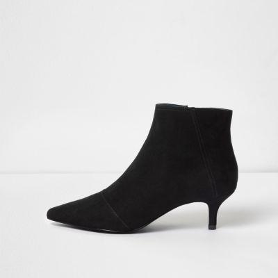Kitten Heel Black Boots KLsG0gjP
