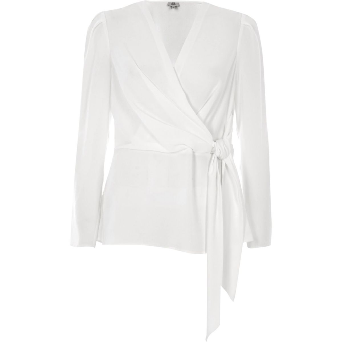 River Island Blouse - ivory/black
