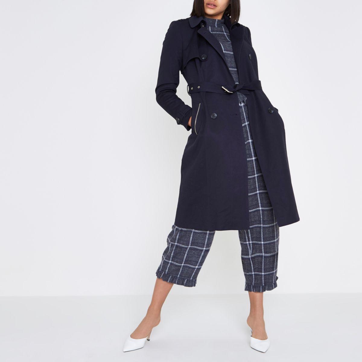 Navy women coat