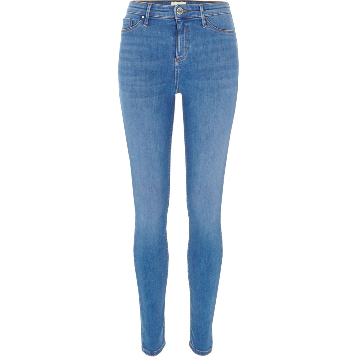 Cheap Sale Eastbay Womens Light Blue denim look leggings River Island Cheap Best Discount With Mastercard Cheap Sale Shopping Online V9kK7a