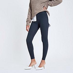 Legging imitation jean bleu marine