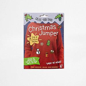 Gestalte deinen Weihnachtspullover selbst