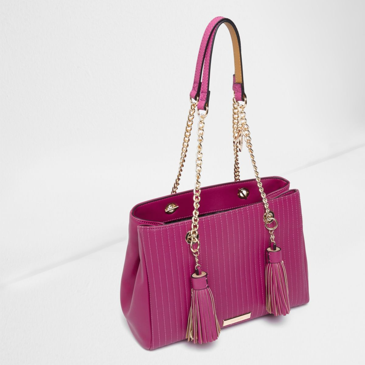 River Island Pink Quilted Bag