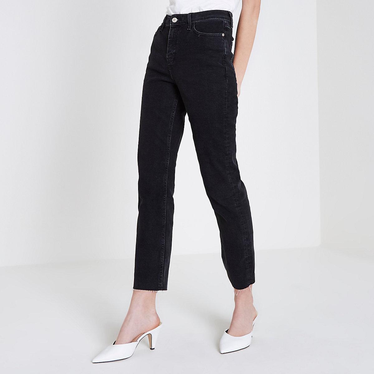 Black Bella straight leg jeans