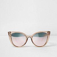 Sonnenbrille mit gespiegelten Kunststoffgläsern