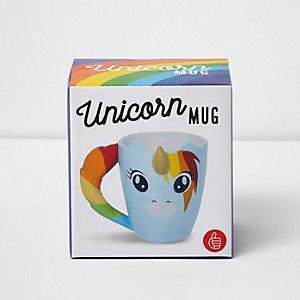 Unicorn rainbow mug