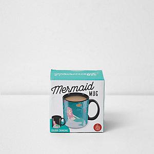 Mermaid color changing mug