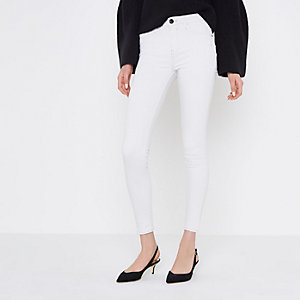 Amelie – Superskinny Jeans in Creme