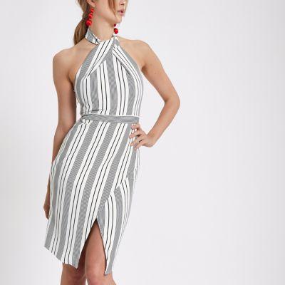 Wrap Halter Dresses