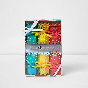 Bubble T bath fizzer Christmas crackers