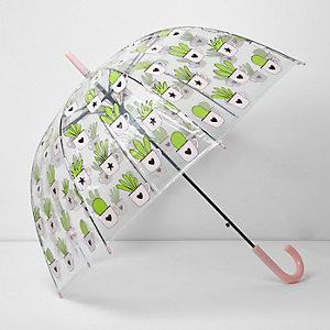Regenschirm mit Kaktus-Print