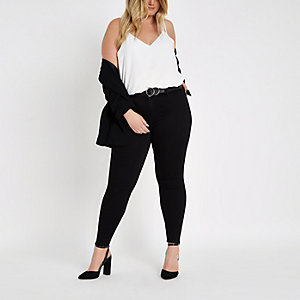 RI Plus - Molly - Zwarte jegging