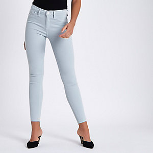 Light blue Molly super skinny jeans