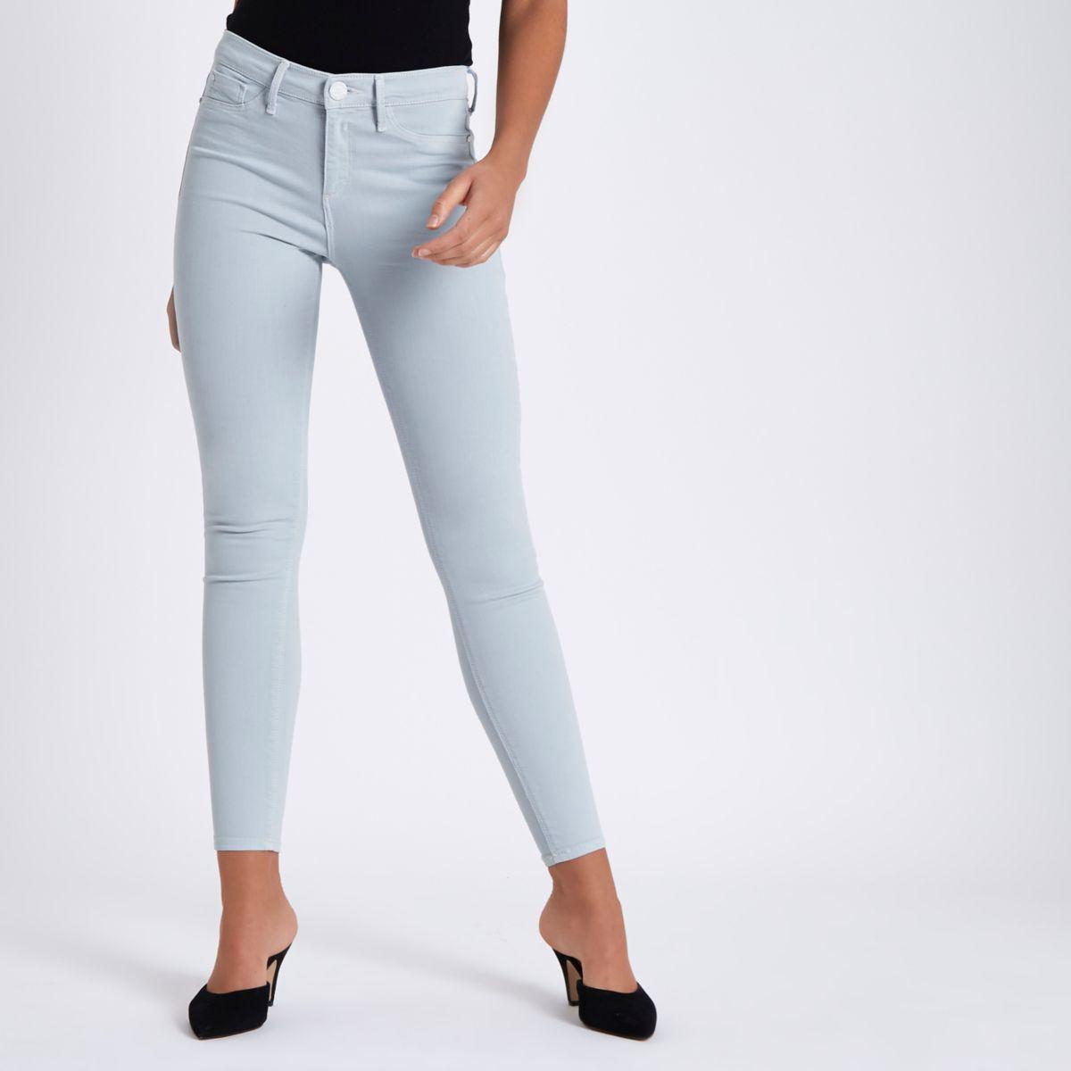 Light blue Molly super skinny jeans