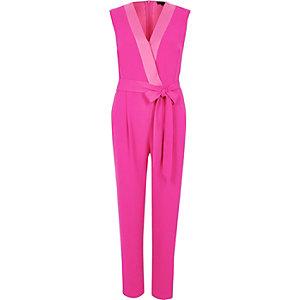 Pinker, eleganter Jumpsuit