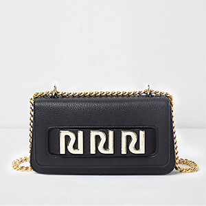 Black RI underarm chain bag