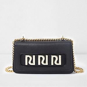 Black RI underarm chain bag