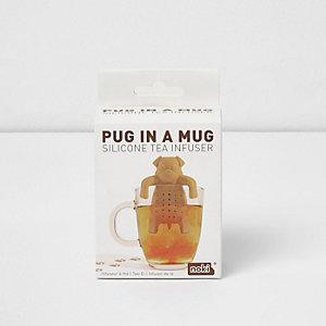 Tee-Ei in Hundeform