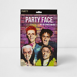 Party face mask set