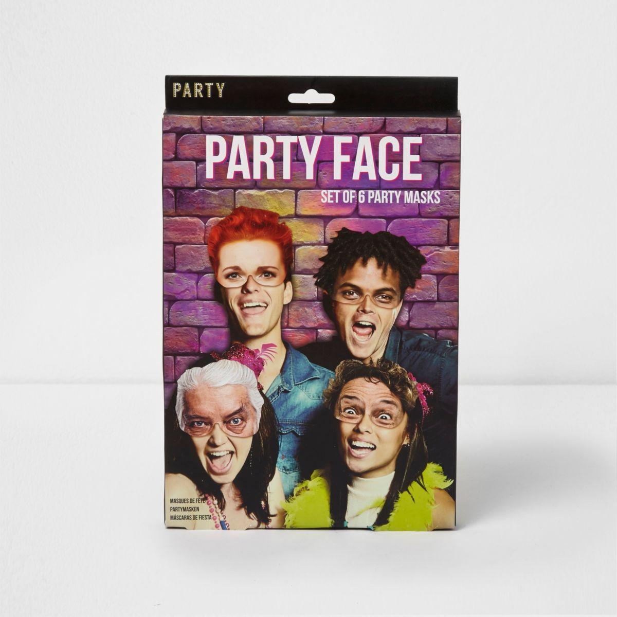 Party face mask set
