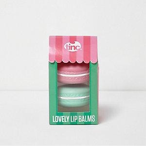 Lovely – Lippenbalsam in Makronenform