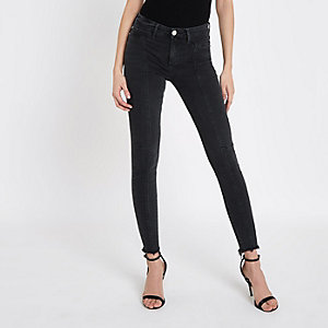 Molly - Zwarte jegging