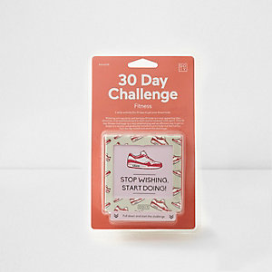 DOIY 30 day fitness challenge cube