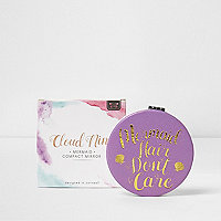 Cloud nine mermaid compact mirror