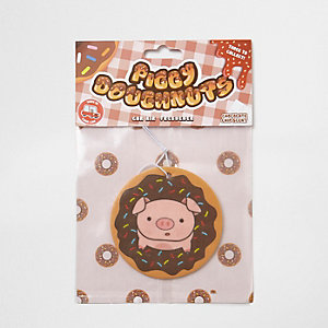 Piggy Doughnuts car air freshener
