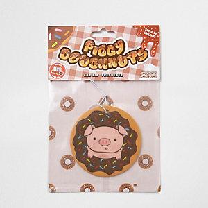 Piggy Doughnuts car air freshener