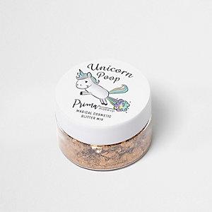 Unicorn Poop – Mélange de paillettes dorées