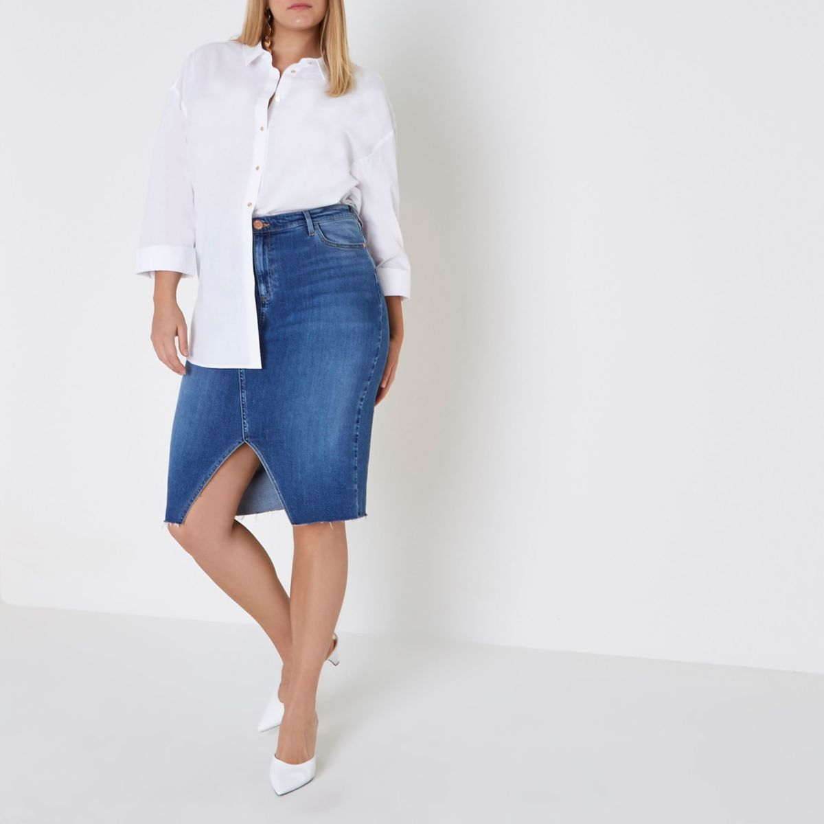 Shop for blue jean skirt online at Target. Free shipping on purchases over $35 and save 5% every day with your Target REDcard.