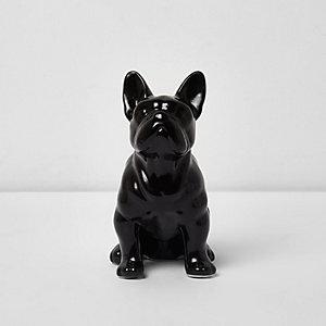 """Sass & Belle – Schwarze Geldbörse """"Französische Bulldogge"""""""