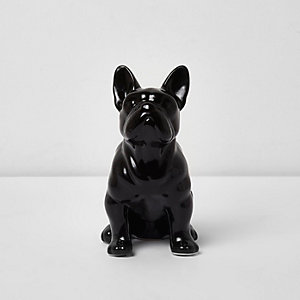 Sass & Belle - Zwarte bulldog spaarpot