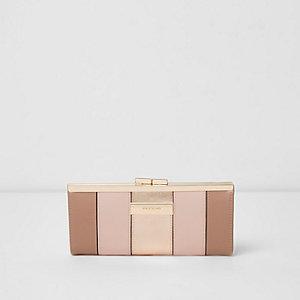 Geldbörse in Pink-Metallic