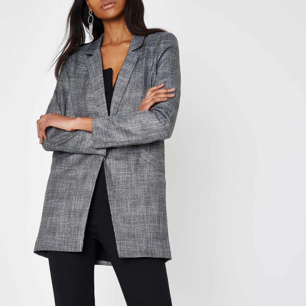 River Island Grey Blazer