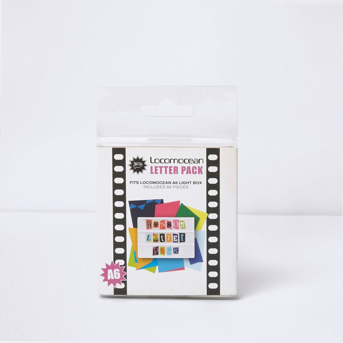 Light box ransom style letters pack