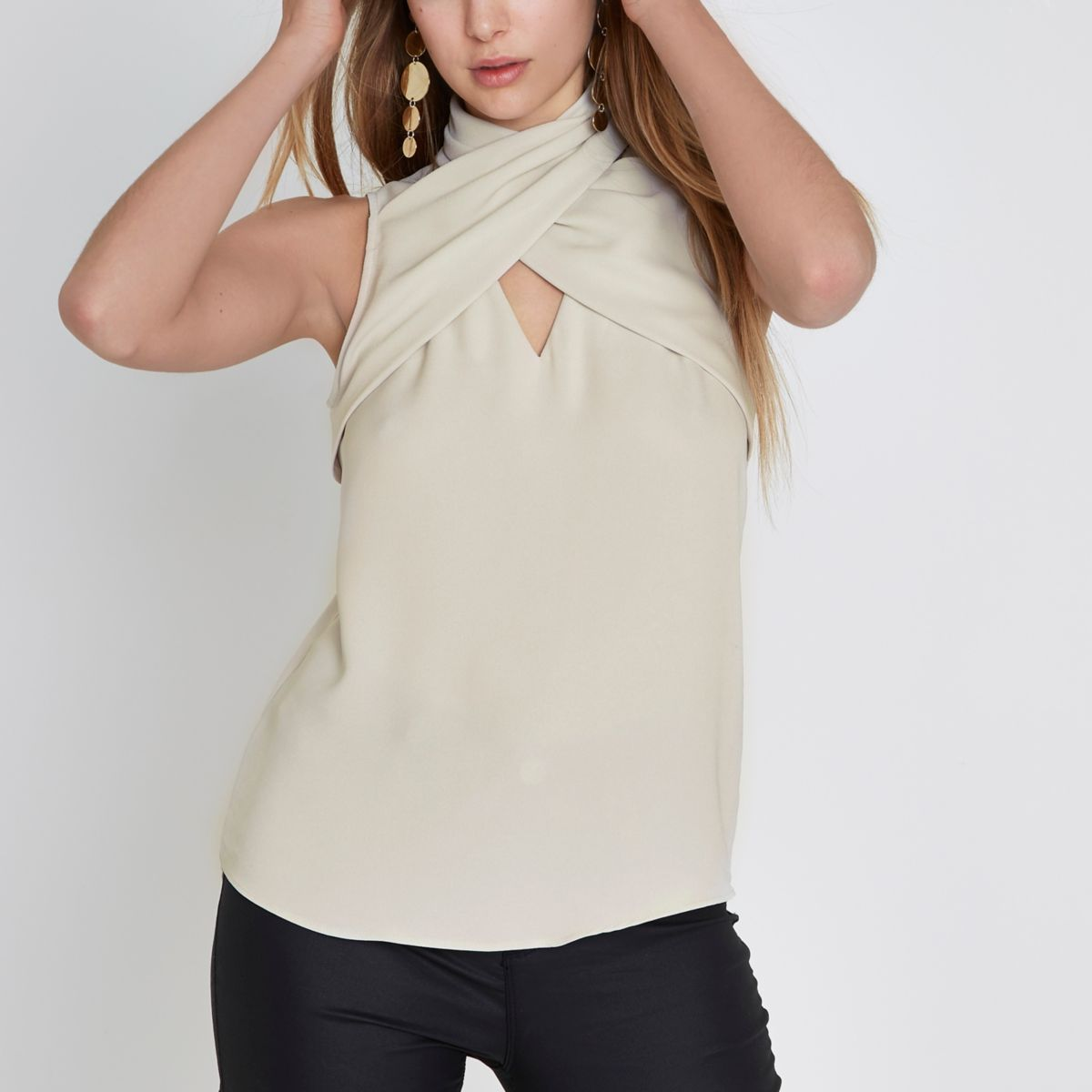 Cream - Discover womens Shirts, Blouses & Jersey at M&S. From fresh cotton classic shirt styles to floral & bold print blouses for work & casual. Order online now.