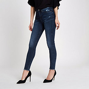 Blue Molly mid rise skinny jeggings