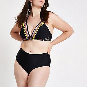 Plus – Bas de bikini noir