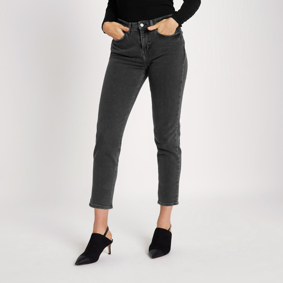 Black Casey slim fit jeans