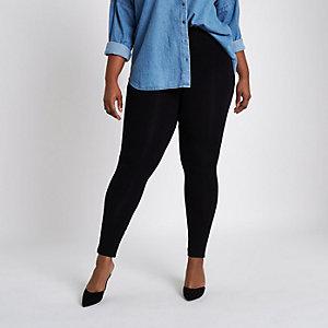 Plus – Legging taille haute noir