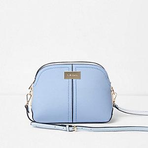 Light blue kettle cross body bag
