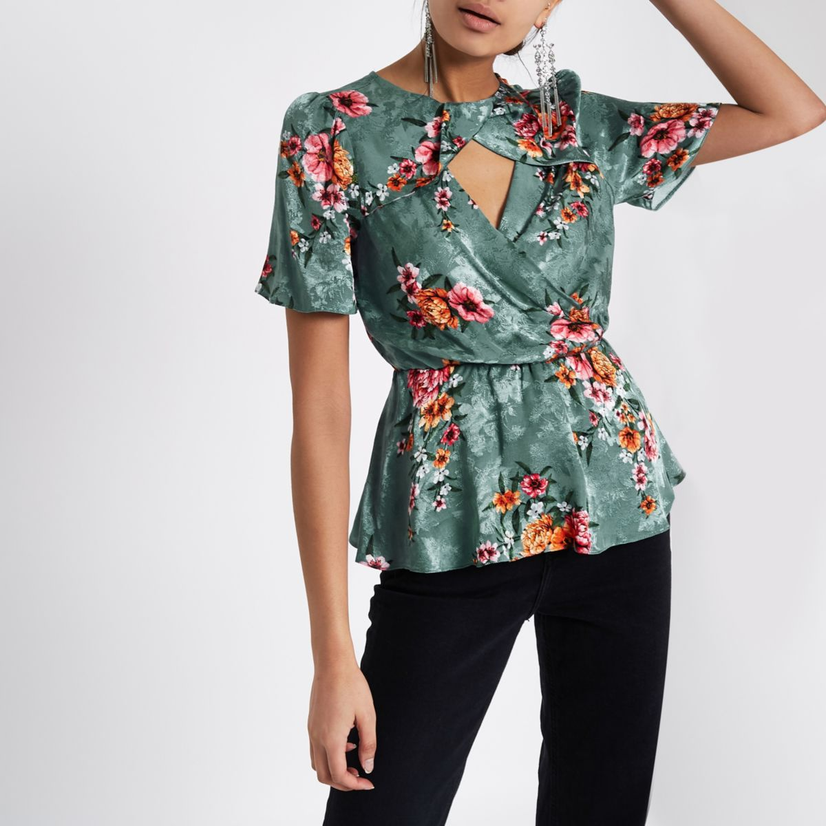 Floral Tops River Island
