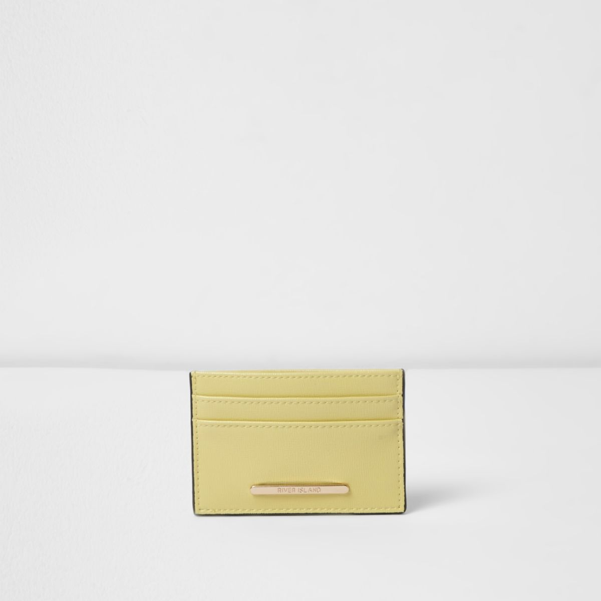 Yellow travel card holder
