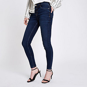 Dark denim Amelie super skinny jeans