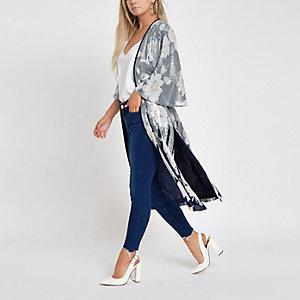 Petite blue Amelie super skinny jeans